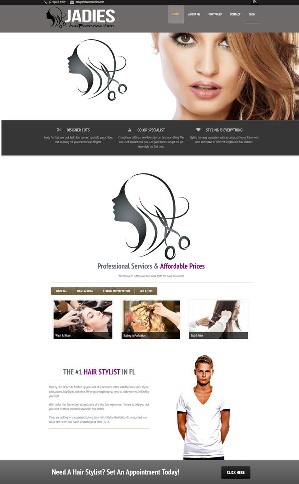 Websites For Hair Salon