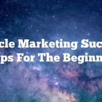 Article Marketing Success Tips For The Beginner