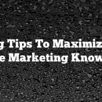 Strong Tips To Maximize Your Article Marketing Knowledge
