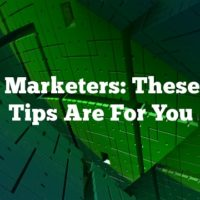 Video Marketers: These Great Tips Are For You