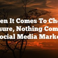 When It Comes To Cheap Exposure, Nothing Compares To Social Media Marketing