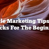 Article Marketing Tips And Tricks For The Beginner