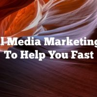 Social Media Marketing Tips To Help You Fast