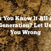 Think You Know It All About Lead Generation? Let Us Prove You Wrong