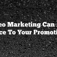 Video Marketing Can Add Spice To Your Promotions