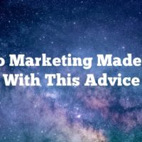 Video Marketing Made Easy With This Advice