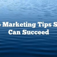 Video Marketing Tips So You Can Succeed