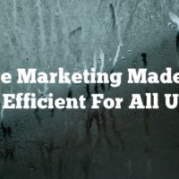 Article Marketing Made Easy And Efficient For All Users!