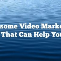 Awesome Video Marketing Tips That Can Help You Out