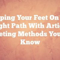 Keeping Your Feet On The Right Path With Article Marketing Methods You Must Know