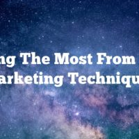 Making The Most From Video Marketing Techniques