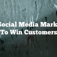 Use Social Media Marketing To Win Customers