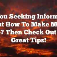 Are You Seeking Information About How To Make Money Online? Then Check Out These Great Tips!