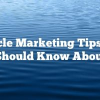 Article Marketing Tips You Should Know About