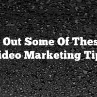 Check Out Some Of These Cool Video Marketing Tips