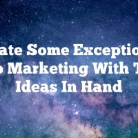 Create Some Exceptional Video Marketing With These Ideas In Hand