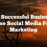 How Successful Businesses Use Social Media For Marketing