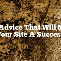 Seo Advice That Will Make Your Site A Success