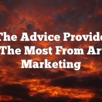 Use The Advice Provided To Get The Most From Article Marketing