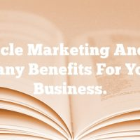 Article Marketing And Its Many Benefits For Your Business.