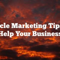 Article Marketing Tips To Help Your Business