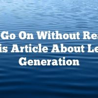 Don't Go On Without Reading This Article About Lead Generation