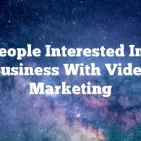 Get People Interested In Your Business With Video Marketing