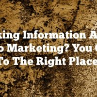 Seeking Information About Video Marketing? You Came To The Right Place!
