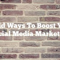 Solid Ways To Boost Your Social Media Marketing