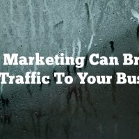 Video Marketing Can Bring In More Traffic To Your Business
