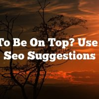 Want To Be On Top? Use These Seo Suggestions