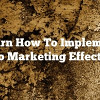 Learn How To Implement Video Marketing Effectively