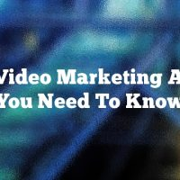 Nice Video Marketing Advice You Need To Know