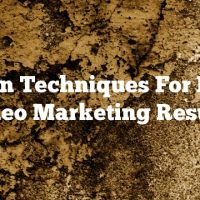 Proven Techniques For Better Video Marketing Results