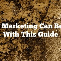 Video Marketing Can Be Easy With This Guide