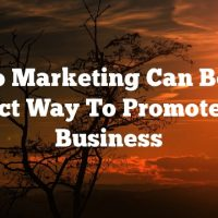 Video Marketing Can Be The Perfect Way To Promote Your Business