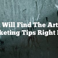 You Will Find The Article Marketing Tips Right Here