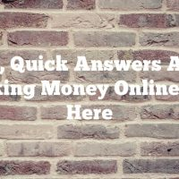 Easy, Quick Answers About Making Money Online Are Here