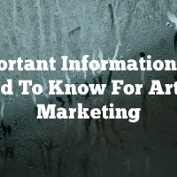 Important Information You Need To Know For Article Marketing