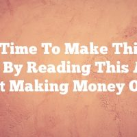 It's Time To Make Things Easier By Reading This Article About Making Money Online