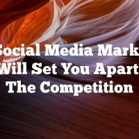 Our Social Media Marketing Tips Will Set You Apart From The Competition