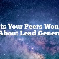 Secrets Your Peers Won't Tell You About Lead Generation