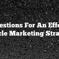 Suggestions For An Effective Article Marketing Strategy