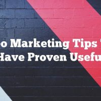 Video Marketing Tips That Have Proven Useful
