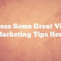 Access Some Great Video Marketing Tips Here