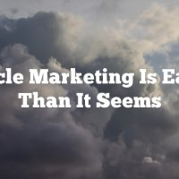 Article Marketing Is Easier Than It Seems