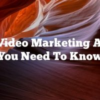 Cool Video Marketing Advice You Need To Know