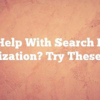 Need Help With Search Engine Optimization? Try These Ideas