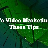 New To Video Marketing? Try These Tips