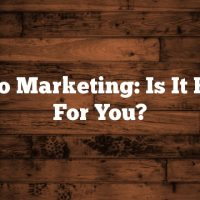 Video Marketing: Is It Right For You?
